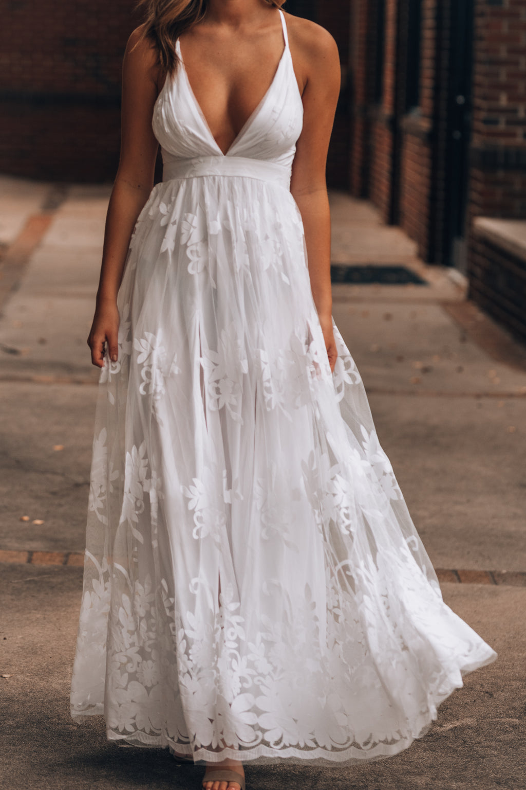 All My Love Maxi Gown (White)
