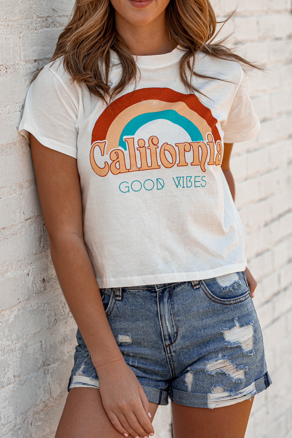 California Good Vibes Top - FINAL SALE