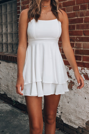Lily Tiered Mini Dress