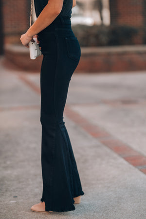 Major Crush Bell Bottoms (Black) FINAL SALE