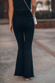 Major Crush Bell Bottoms (Black)