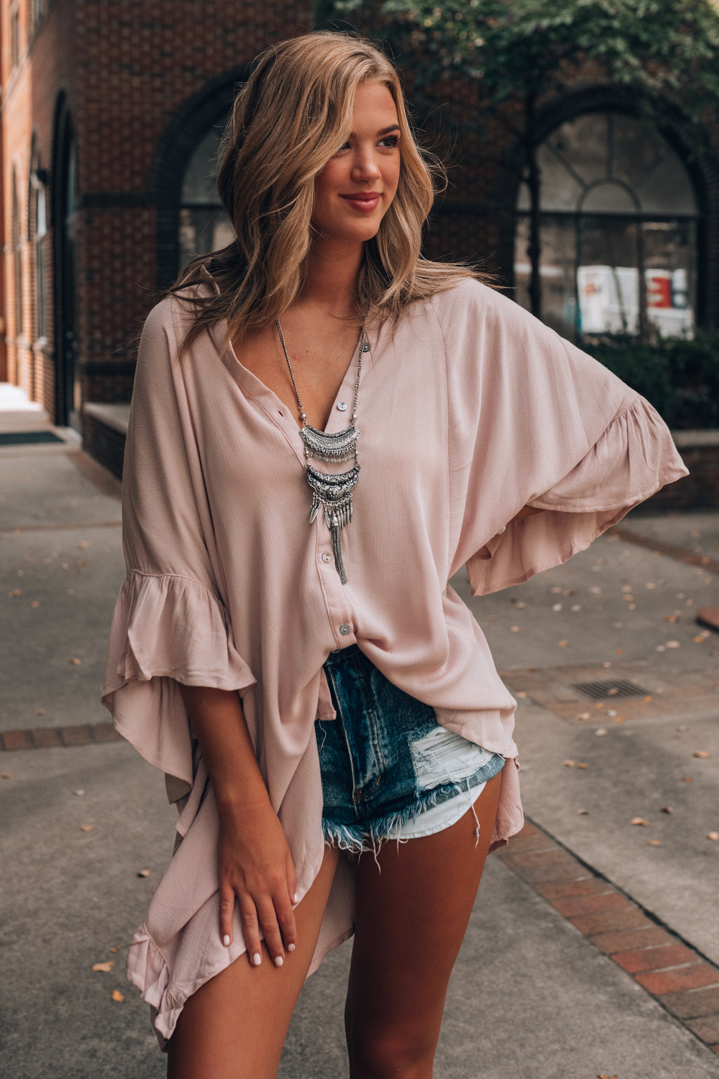 One Love Oversized Tunic