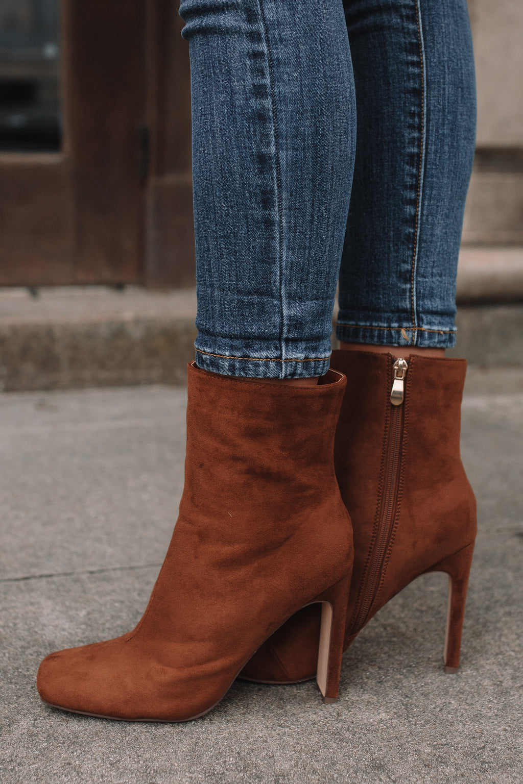 Karia Booties (Tan)