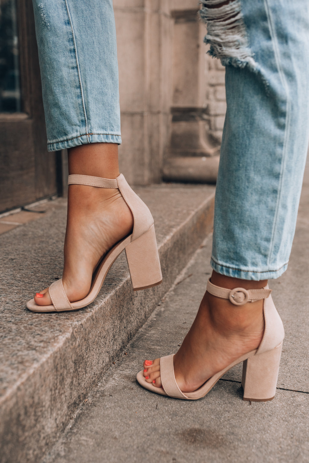 Pump It Up Heels (Taupe)
