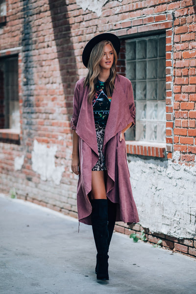 Thalia Trench Coat