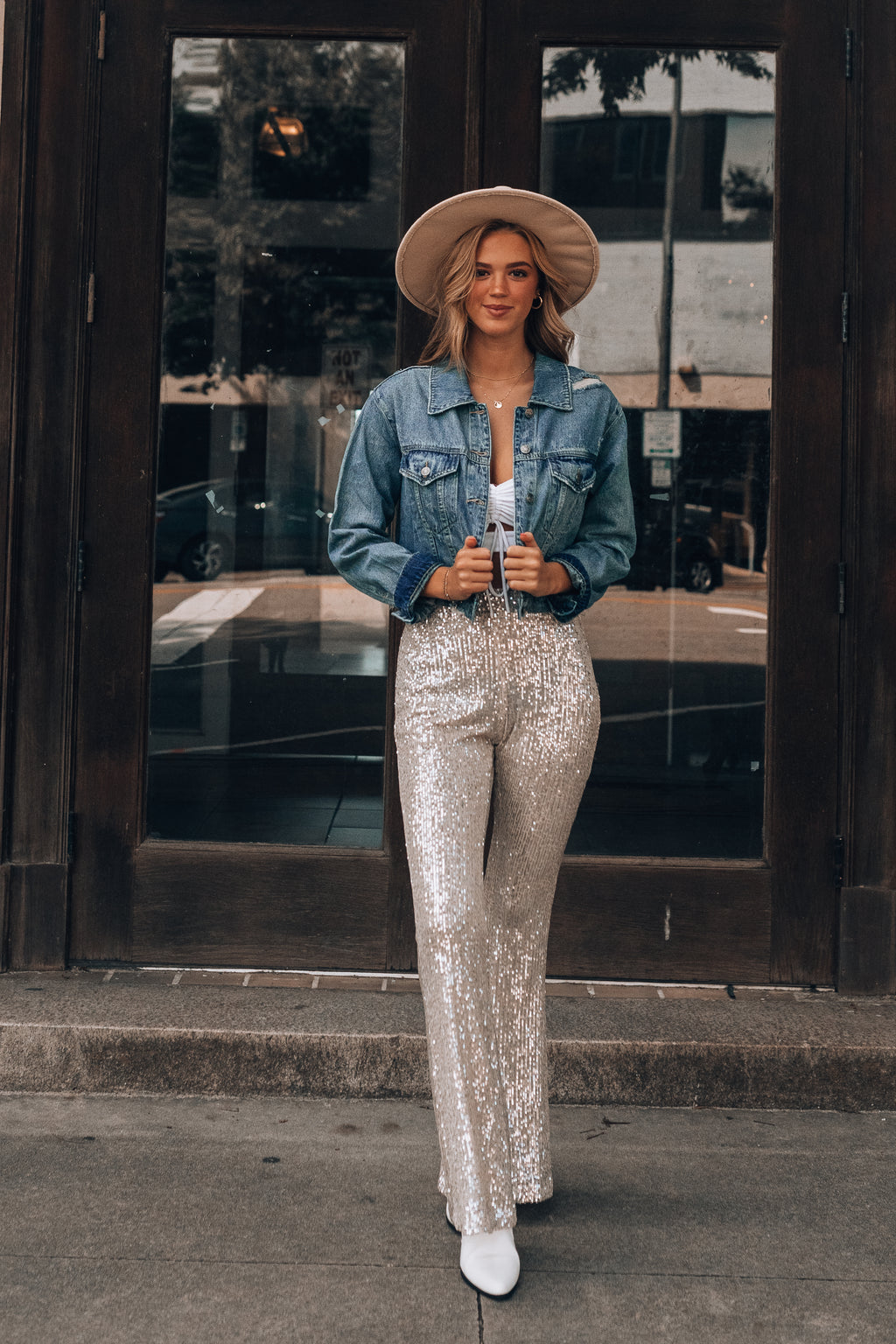 Disco Fever Sequin Pants