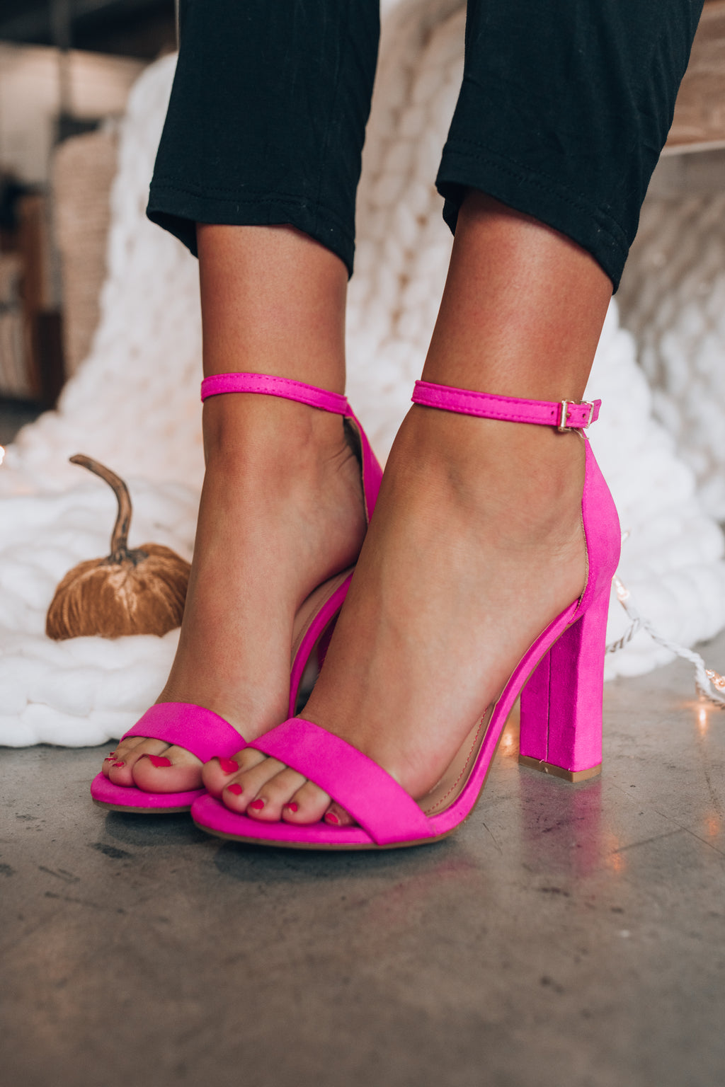 Obsessed Classic Heels (Hot Pink)