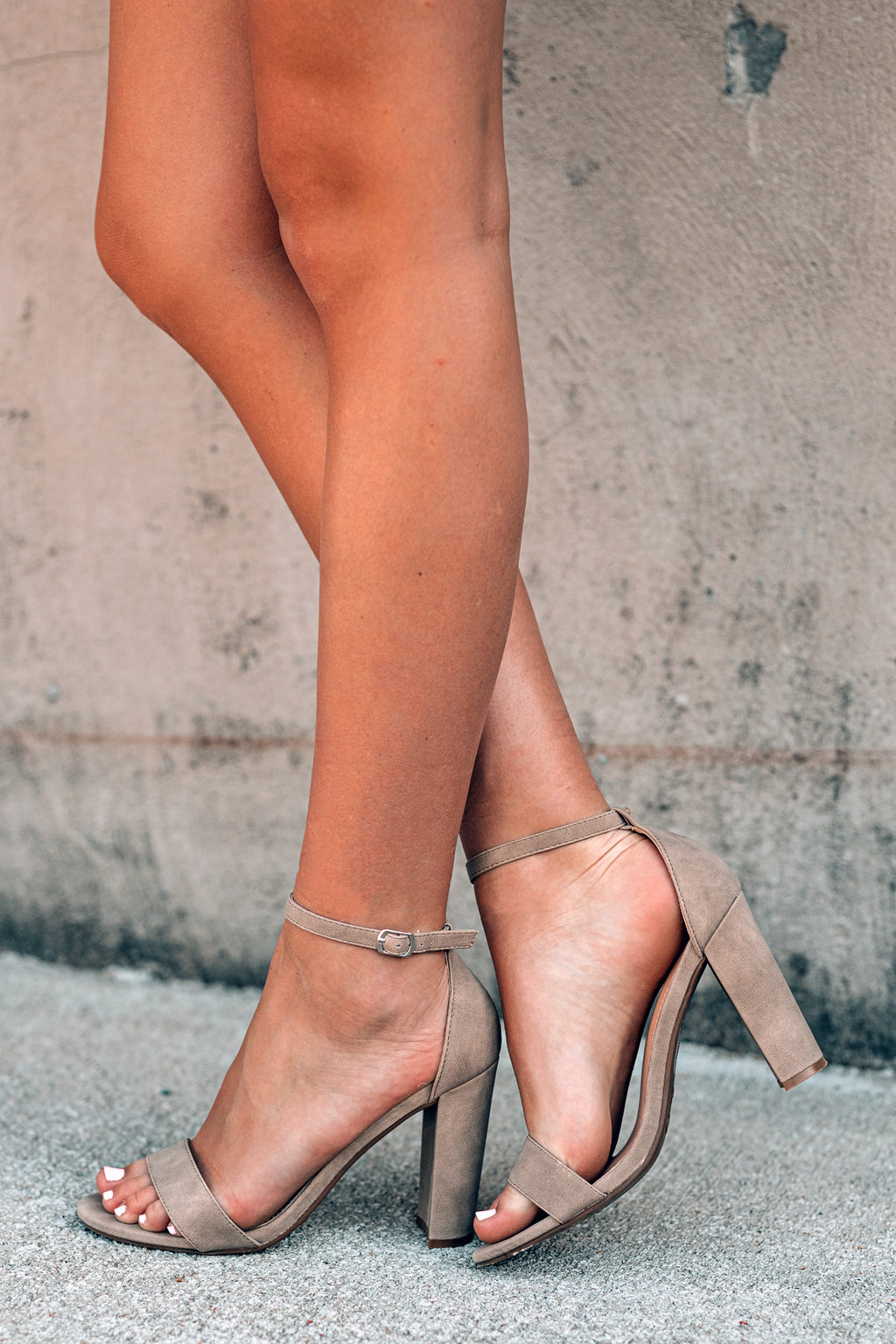 Obsessed Classic Heels (Taupe)