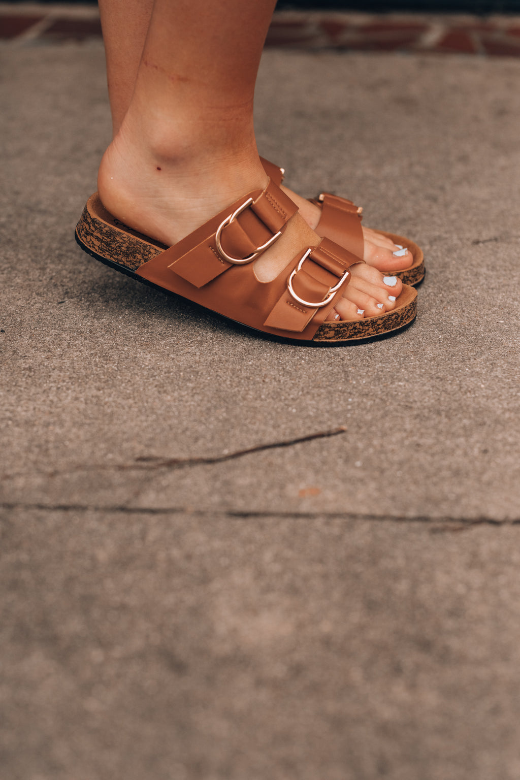 Rebecca Buckle Sandals - FINAL SALE