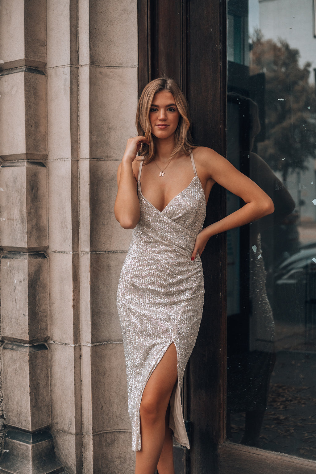 Mine Forever Sequin Dress