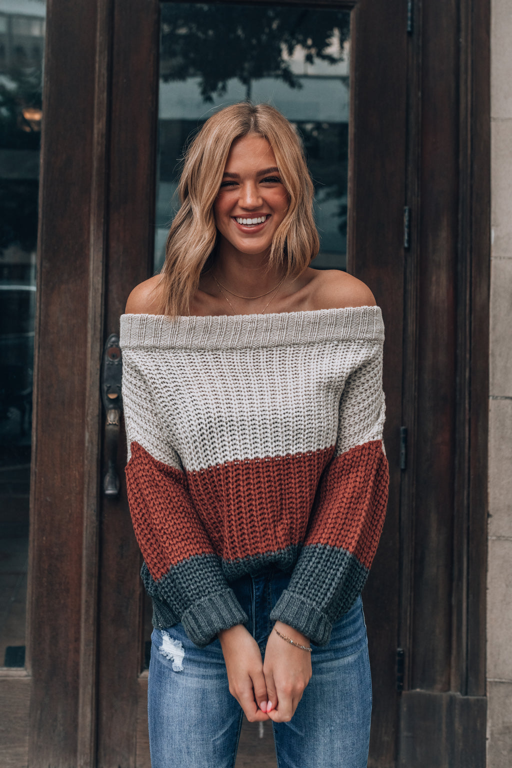 Sadie Striped Sweater