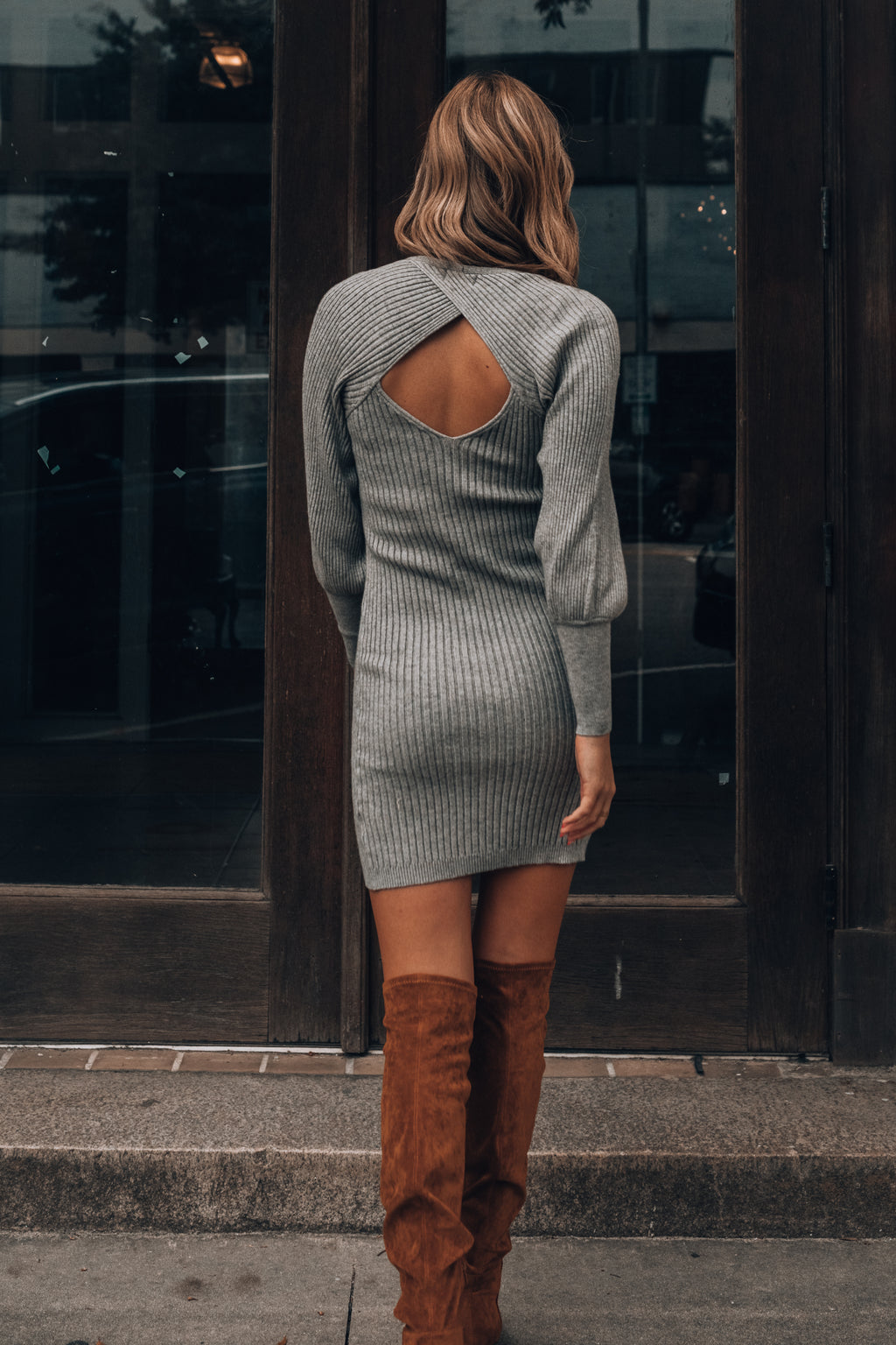 Always With You Sweater Dress