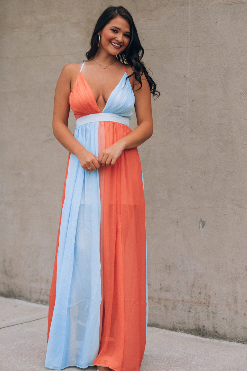 By The Water Ombre Maxi Gown