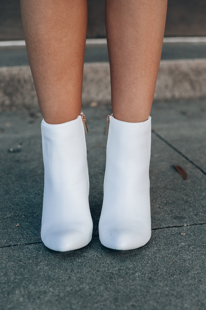 Ryder Booties (White)