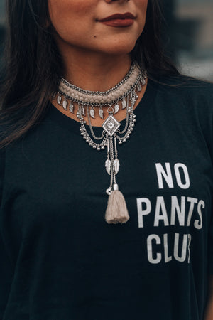 No Pants Club Tee