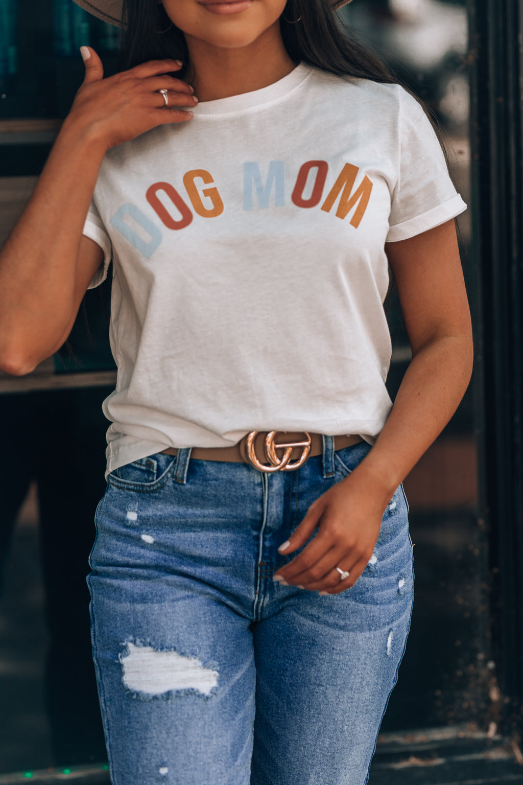 Dog Mom Tee - FINAL SALE