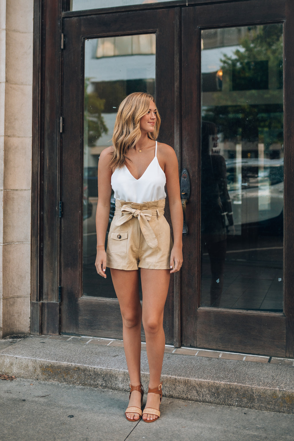 Safari Paperbag Shorts