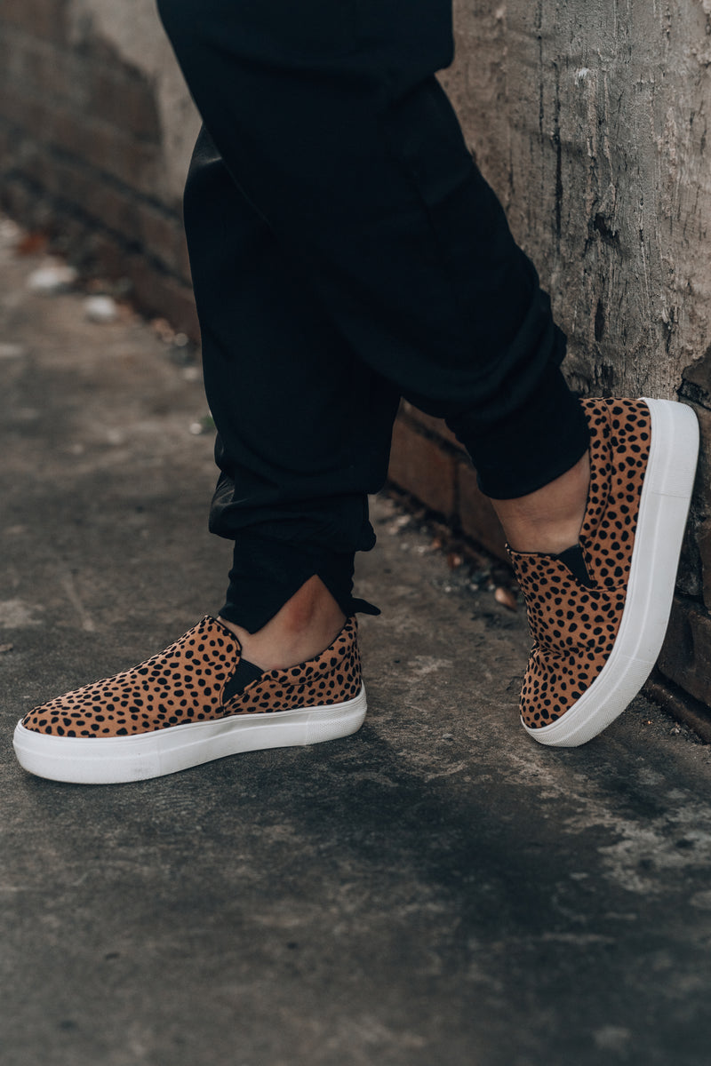 Emerson Slip On Sneakers (Leopard)