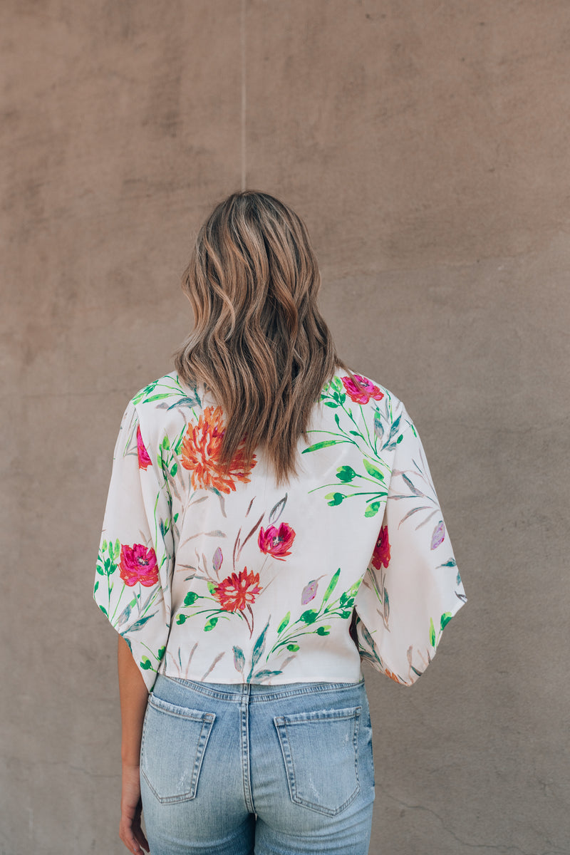 Polly Floral Blouse