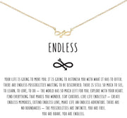 Endless Necklace (14K Gold)