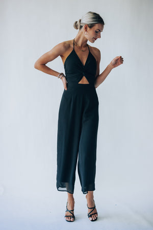 Eventful Jumpsuit (Black)