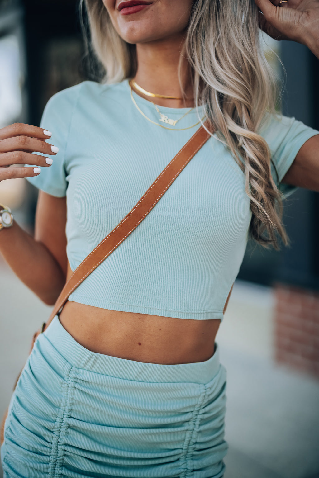 Moody Crop Top