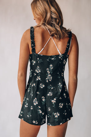 In The Sun Floral Romper