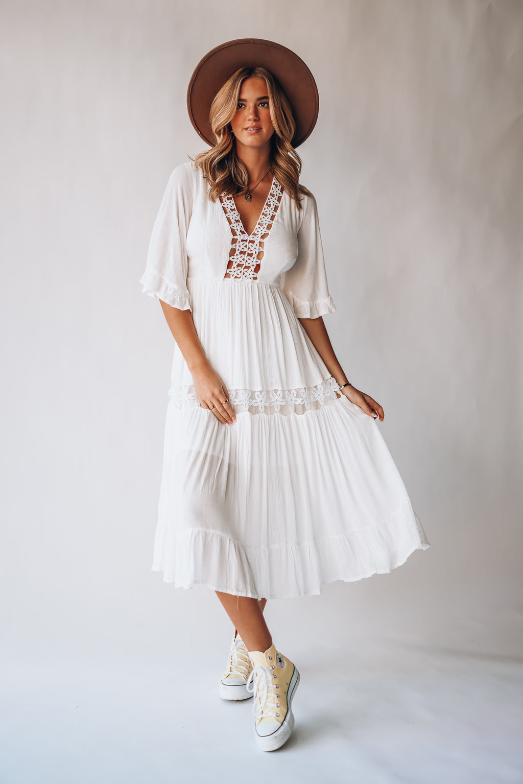 In The Mountains Midi Dress