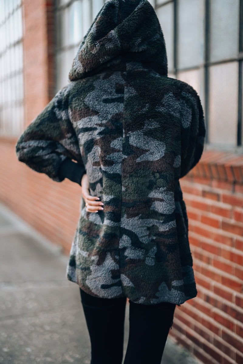 Early Night Camo Jacket