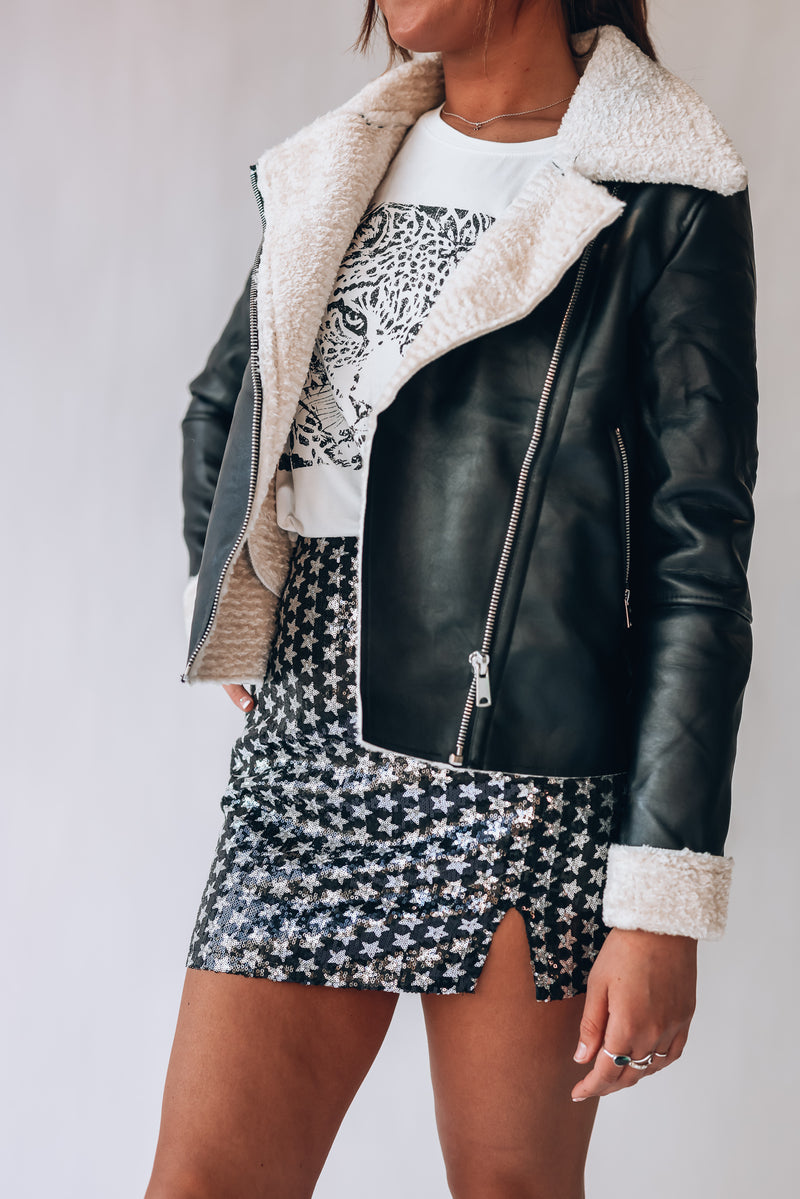 Good Vibes Moto Jacket