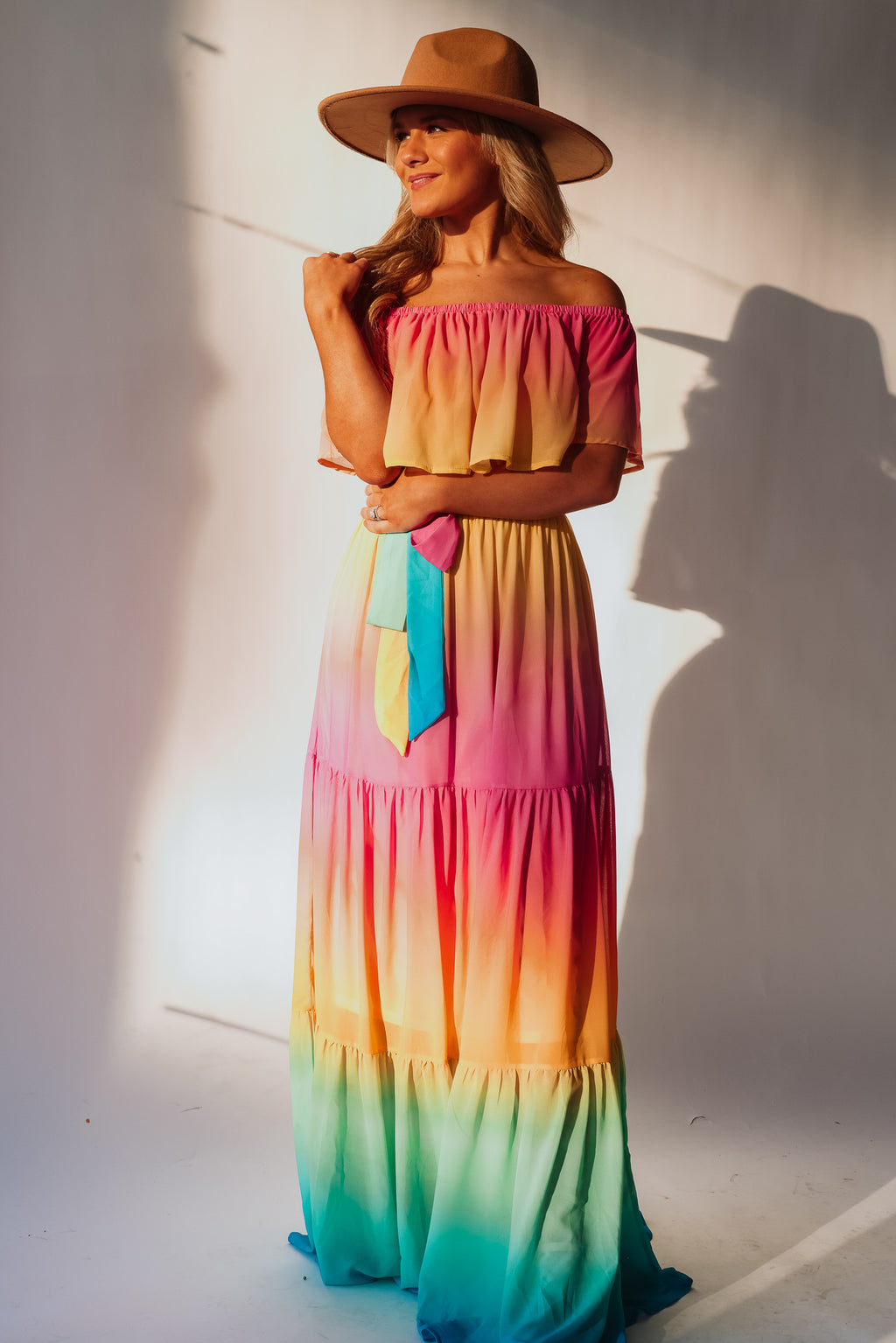 Full Spectrum Maxi Dress