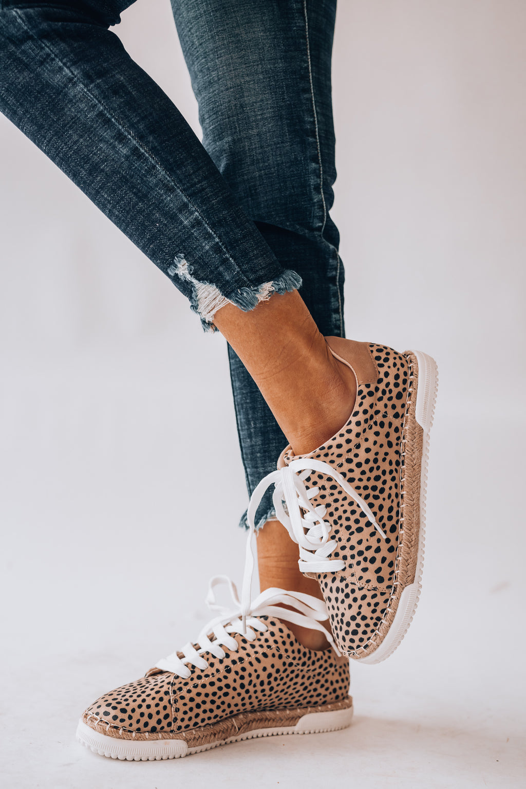 Lucia Cheetah Sneakers