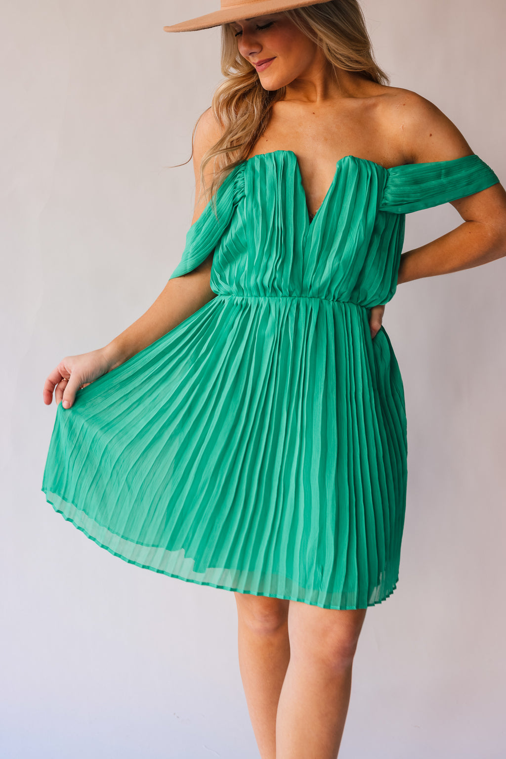 Making Moves Mini Dress (Jade)
