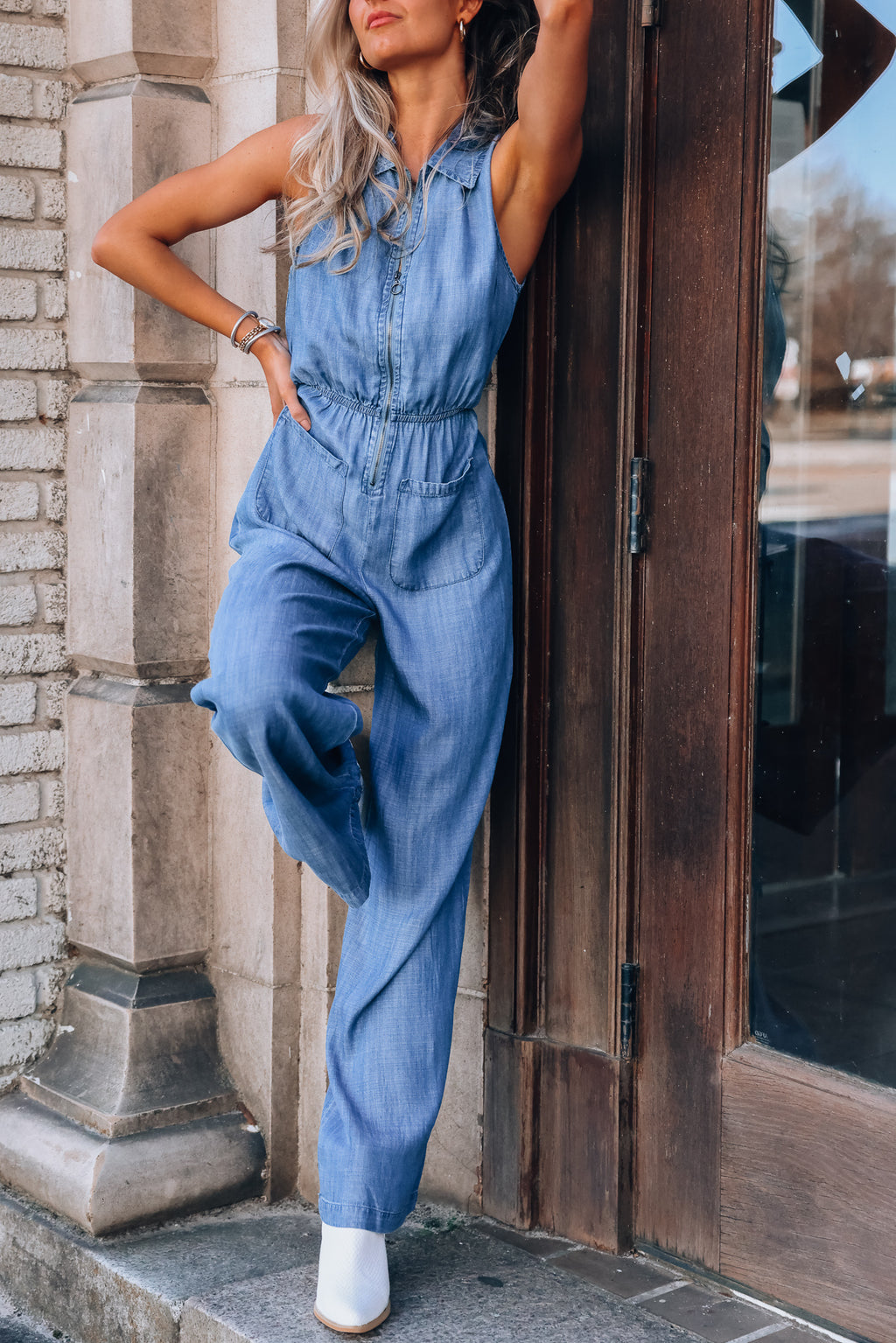 Wild West Tencel Jumpsuit