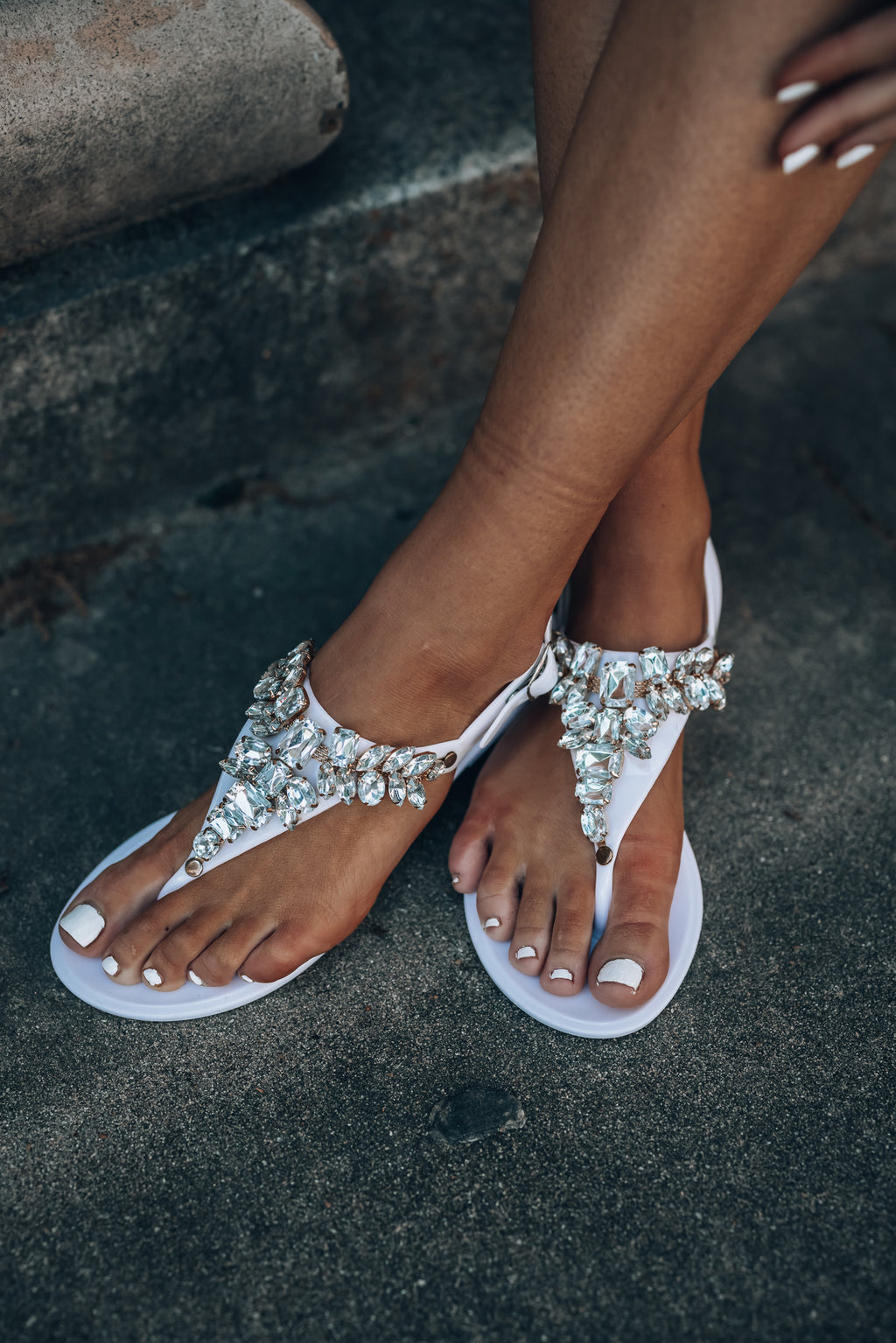 Traveller Rhinestone Sandals