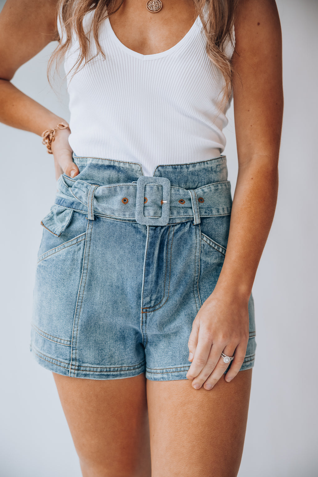 Morgan High Waist Shorts