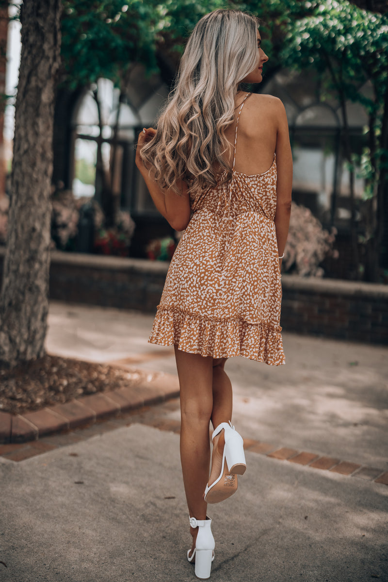 Cruising Leopard Mini Dress
