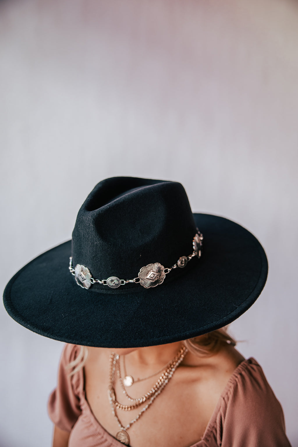 Joshua Tree Wide Brim Hat (Black) PRE-ORDER Ships Mid April