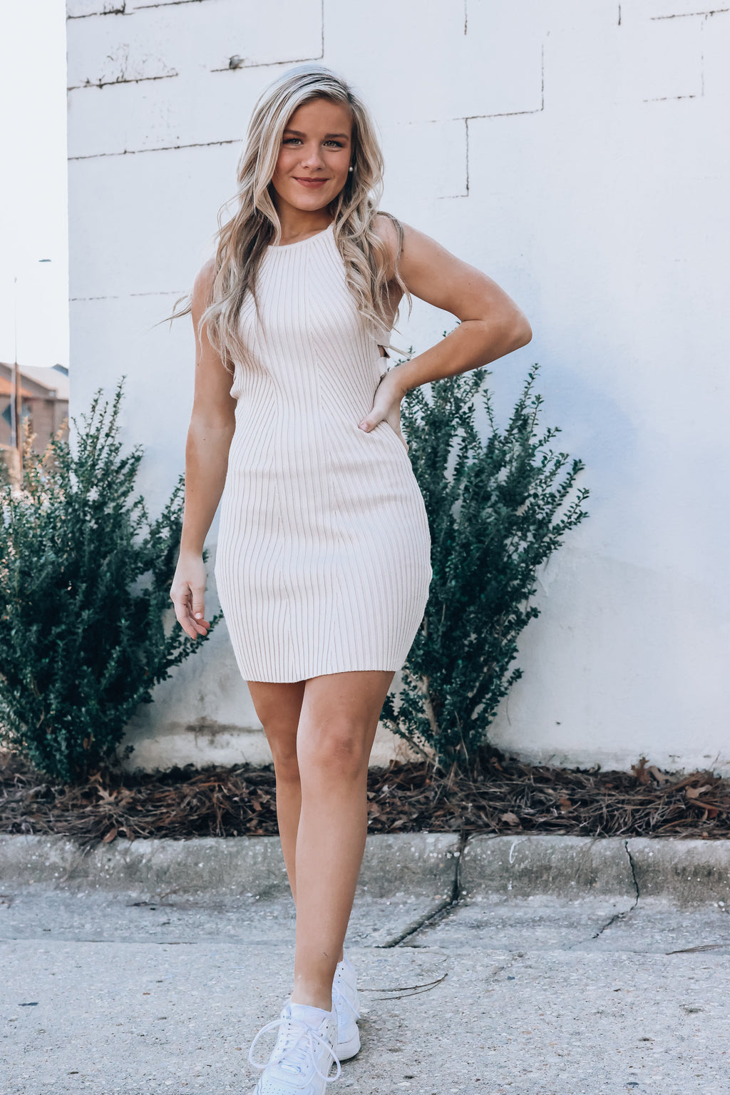 Frankie Knit Mini Dress