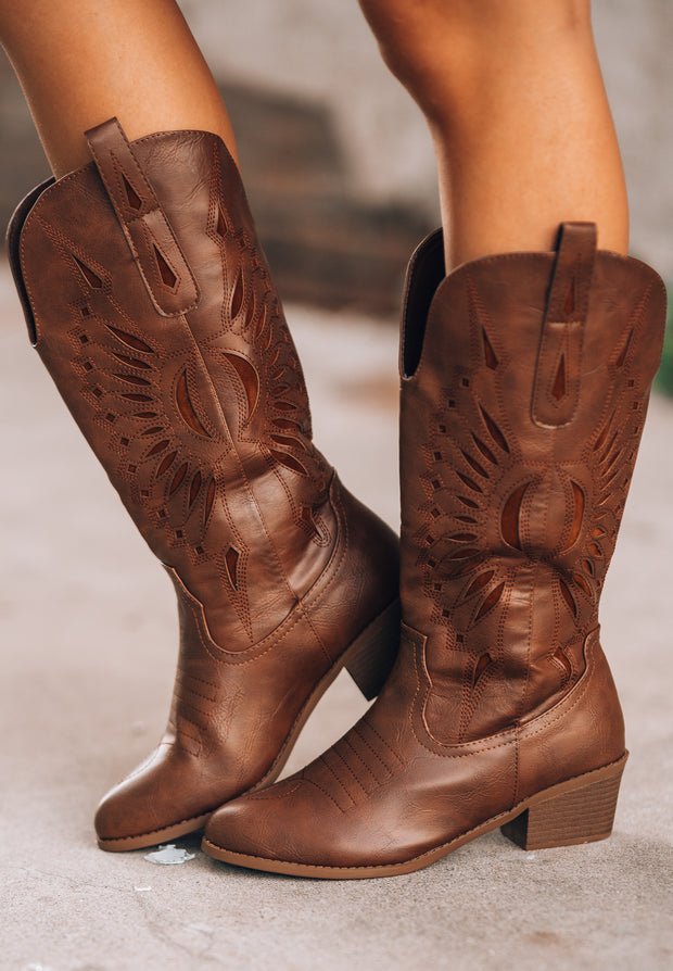 Two Step Western Boots