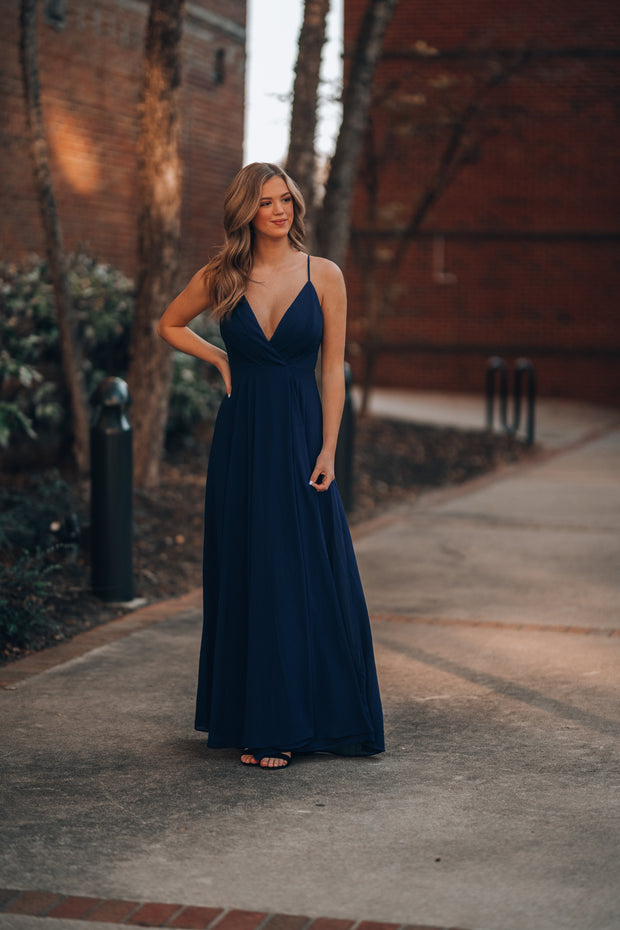 Wandering Hearts Gown (Navy)