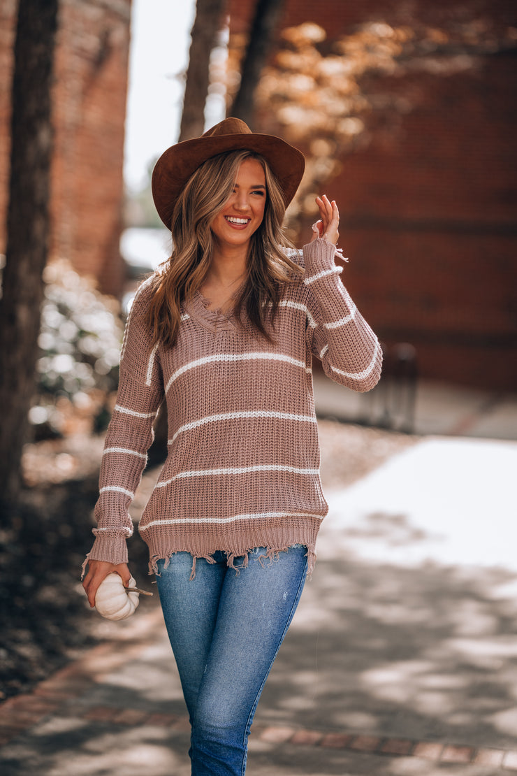 Lilly Striped Sweater