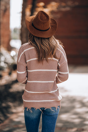 Lilly Striped Sweater - FINAL SALE