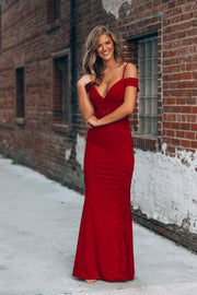 Eclipse Lace Gown (Ruby)