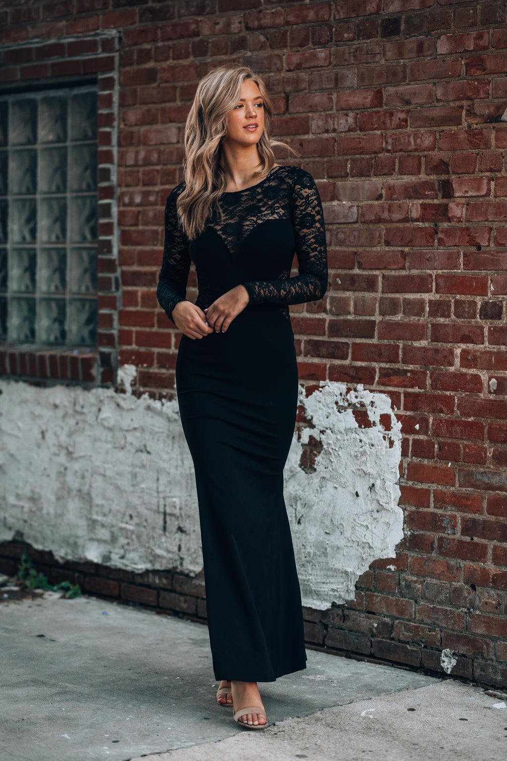 Old Fashion Love Gown (Black) - FINAL SALE