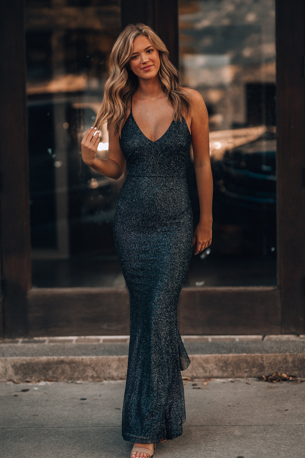 This Is Love Glitter Gown (Black) PRE-ORDER Ships Late October