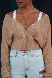 Rosie Wrap Sweater PRE-ORDER Will Ship August 24th