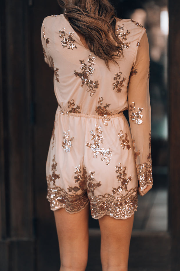 Keepsake Sequin Romper