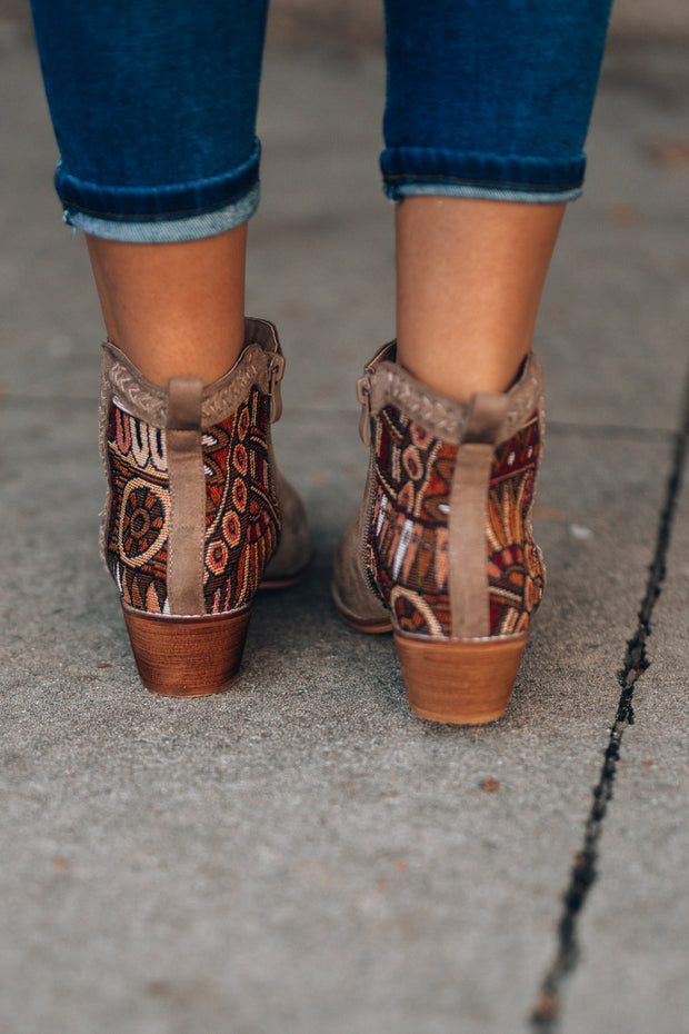 Layla Embroidered Booties PRE-ORDER // ETA December 13th