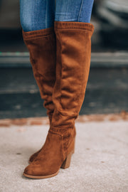 It's A Vibe Boots (Chestnut)